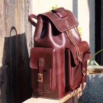 Why use full grain leather for handmade bags ?